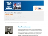 2012 : EDF Luminus Newsletter