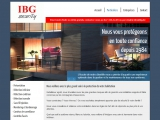 Site internet : IBG Security