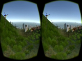 Vision binoculaire Oculus Rift